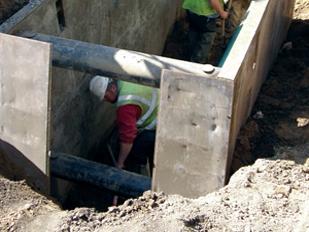 Product photo manhole shield